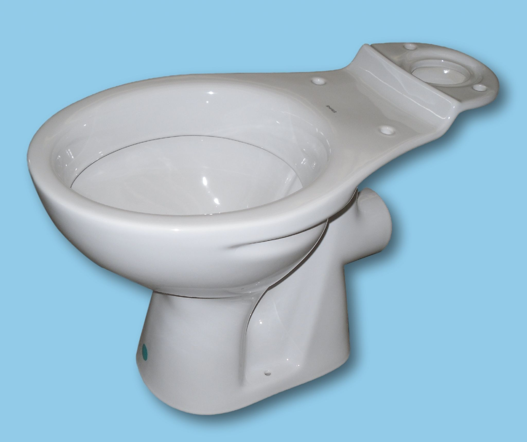 Close Coupled Wc Toilet Pan Available In Colours For