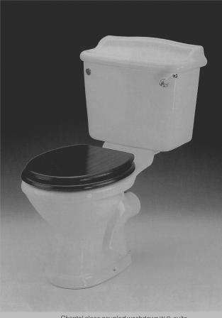 Twyfords Bathrooms Caradon Replacement Toilet Cistern
